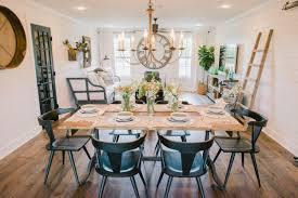 fixer upper dining table the ultimate fixer upper inspired house color palette hgtv s