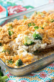 easy broccoli rice casserole with turkey spend with pennies