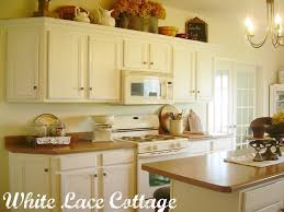 Refinishing Kitchen Cabinets White Lettered Cottage Painted Kitchen Cabinets Kitchen