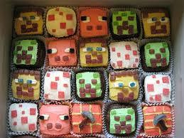 minecraft cupcake ideas minecraft cupcakes delicious goodness minecraft