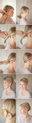 Hochsteckfrisurenen Zum Nachmachen Kurze Haare by Tolle Kurze Haare Stylen Mit Spangen Deltaclic