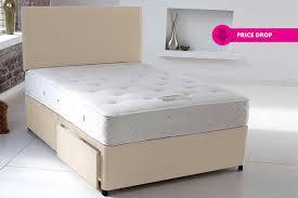 Divan Bed Set Divan Bed And Memory Foam Mattress