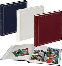 Bound Photo Albums Monza Large Square White Page Photo Albums The Photo Album Shop