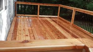 floating cedar deck lakeland decks of minnesota