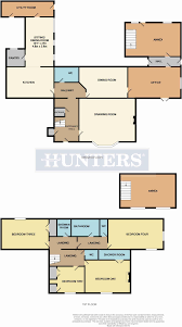 floor plan of the secret annex 4 bedroom property for sale in candler house garth end road west