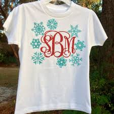 monogrammed christmas best monogram christmas shirt products on wanelo