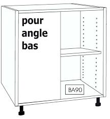 caisson d angle pour cuisine caisson d angle cuisine caisson bas pour angle droit caisson angle