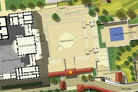 National Cathedral Floor Plan by National Ceremonial Plaza Thimphu Bhutan