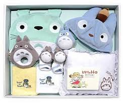baby gift sets baby gift set of my totoro studio ghibli anime from japan