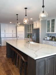 countertop for kitchen island 29 quartz kitchen countertops ideas with pros and cons digsdigs