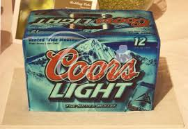 case of coors light groom s cakes creations by laura