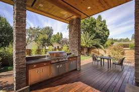 outdoor kitchen on deck inspirations also cheap ideas images