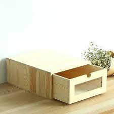boite de classement bureau boite de rangement papier bureau organisateur de bureau en bois a4