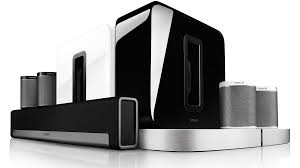 sonos as home theater system sonos speakers wireless sound bar multi room harvey norman