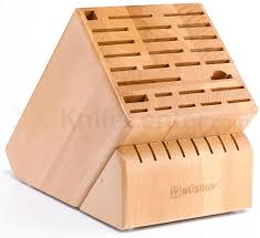 wusthof 35 slot beechwood grand knife block knifecenter 7235 1