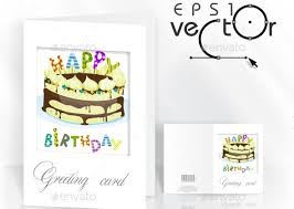 17 cool greeting card templates for birthday u2013 design freebies