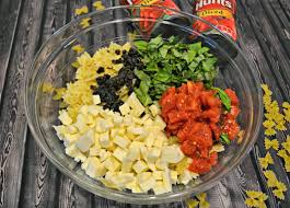 yummy pasta salad caprese pasta salad summer recipes building our story