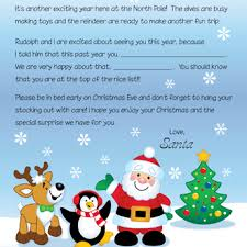 letters from santa free santa letters letters from santa and letters to santa