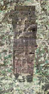Clifty Falls State Park Map by Map Of Jefferson Proving Ground Madison Indiana Depleted