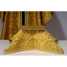 chalice veil burse and chalice veil in verona goldbrocade arte grosse
