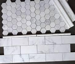 carrara hexagon tile the builder depot blog