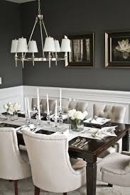 Black And Cream Dining Room - black and white dining table imagesoom decorating ideas grey