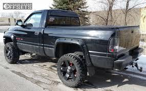 dodge ram 1500 rockstar rims wheel offset 2001 dodge ram 1500 flush suspension lift 3 custom rims