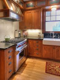 Kitchen Design Oak Cabinets by Quarter Sawn Oak Cabinetry Soapstone Countertops Wood Floors