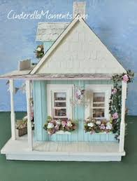 Shabby Chic Dollhouse by Cinderella Moments Shabby Chic Dollhouse Better Pictures