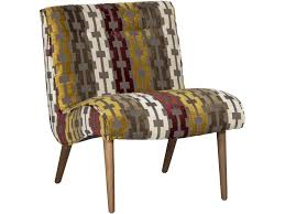 Colorful Accent Chairs by Jonathan Louis Accentuates Forbes Armless Accent Chair With