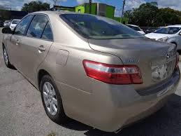 2007 toyota camry xle 2007 toyota camry xle v6 4dr sedan in kissimmee fl marvin motors