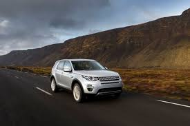 land rover silver discovery sport