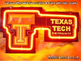 texas tech neon light ncaa texas tech red raiders 3d neon light sign ncaa