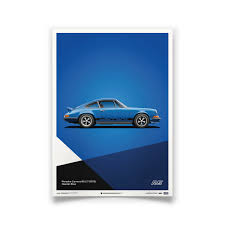 blue porsche 911 blue porsche 911 carrera rs poster automobilist