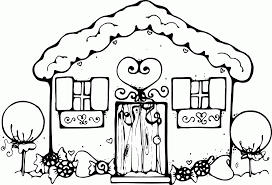 haunted mansion clipart cartoon haunted house coloring page coloring home