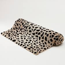 Leopard Bathroom Rugs Global Style Bath Rugs From Safari And Coastal Plus Cottage Chic