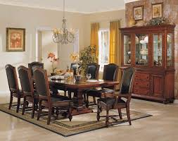 Leather Dining Room Chairs With Arms Dining Room Modern Grey Leather Dining Chair Matched With