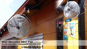 Patio Fans With Misters by Best Outdoor Misting Fan Mist Cooling Blog