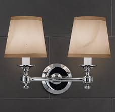 Restoration Hardware Wall Sconces Sconce Bath Sconces Restoration Hardware