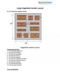 vegetable garden plans and layouts lovetoknow