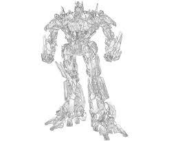 optimus prime transformer coloring free download