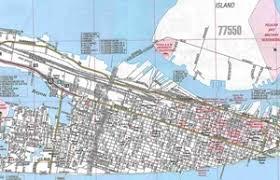 map of galveston themapstore galveston la marque city tx map