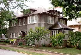 exterior charles l house frank lloyd wright prairie style