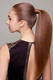 ponytail long hairstyles 2017