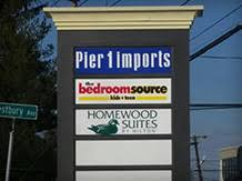 The Bedroom Source by Architectural Signs Custom Signmaker Banners Car Graphics