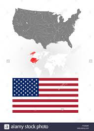 World Map Of The United States by Map Of The United States Of America With Lakes And Rivers