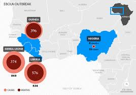 west africa map ebola west africa ebola outbreak highlights need for predict program