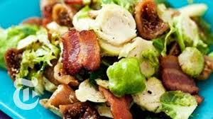 thanksgiving recipes brussel sprouts with bacon and figs