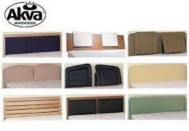 akva waterbed headboard at discount beds