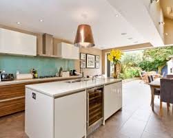 long kitchen design long narrow kitchen home design ideas pictures